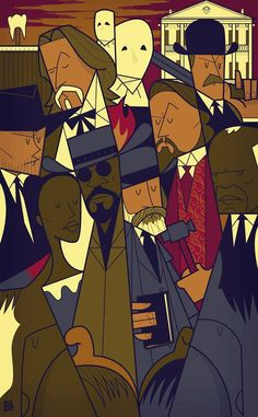 Django Unchained by Ale Giorgini