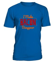 "# I Make Bacon Disappear - Cool Tasty Foodie Style T-Shirts .  Special Offer, not available in shops      Comes in a variety of styles and colours      Buy yours now before it is too late!      Secured payment via Visa / Mastercard / Amex / PayPal      How to place an order            Choose the model from the drop-down menu      Click on ""Buy it now""      Choose the size and the quantity      Add your delivery address and bank details      And that's it!      Tags: Meaty magician? Tasty…"