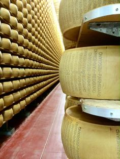 The ultimate Euro food trip! Parmigiano Reggiano.