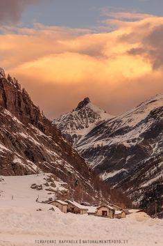 Small mountain village - Parco Nazionale Gran Paradiso, Italy.