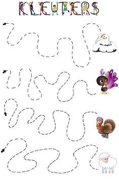 Top 40 Examples for Handmade Paper Events - Everything About Kindergarten Preschool Writing, Fall Preschool, Preschool Kindergarten, Preschool Worksheets, Preschool Activities, Educational Activities, Toddler Activities, Pre Writing, Autumn Activities