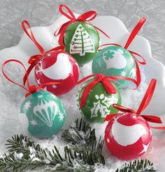 Little Obsessed - Mini Paper Mache #Ornaments, Boxed Set of 6, $6.95 (http://www.littleobsessed.com/mini-paper-mache-ornaments-boxed-set-of-6/)