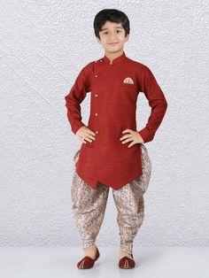 Boys Kurta Suit Shopping - Buy 1 to 16 year Boys Kurta Pajama Sets online Dress Suits For Men, Boys Suits, Kids Kurta Pajama, Stylish Baby Boy, Pathani Kurta, Kids Wear Boys, Boys Kurta Design, Kids Ethnic Wear, India Shopping