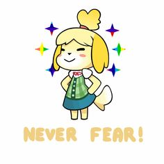 2 adorable! Isabelle - Animal Crossing GIF by ask4GIF