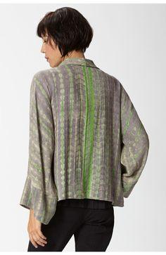 Silk Shibori Jacket