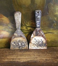 Photo on old tools
