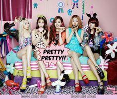 "Ladies' Code gets ""Pretty Pretty"" on 'Music Bank'"