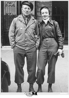 Marlène Dietrich et Jean Gabin