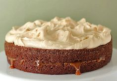 Chocolate Guinness caramel cake http://www.thegalleygourmet.net/2011/03/chocolate-guinness-caramel-cake.html?m=1