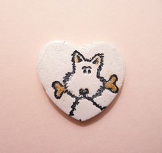 Hey, I found this really awesome Etsy listing at http://www.etsy.com/listing/120625917/dog-heart-pin-brooch-puppy-love-handmade