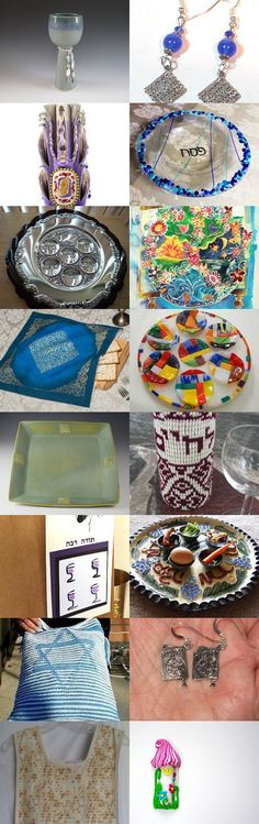 Passover 2015 by Gail on Etsy--Pinned with TreasuryPin.com