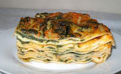 Lasagne con crema di zucca e spinaci ♥ | Ricette allegre