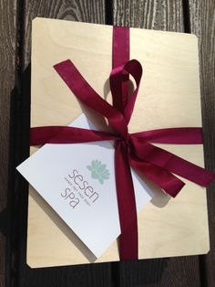 Our spa gift boxes are wrapped with love! #mothersdaygifts #mothersday2015 #mothersdaygiftideas