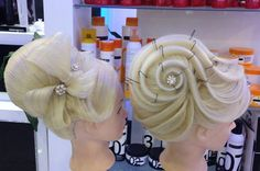 hair up level 3 Romantic Hairstyles, Fancy Hairstyles, Creative Hairstyles, Bride Hairstyles, Vintage Hairstyles, Peinado Updo, Competition Hair, Hair Setting, Fantasy Hair