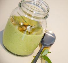 Crema di broccoli, ceci e cipolle in barattolo