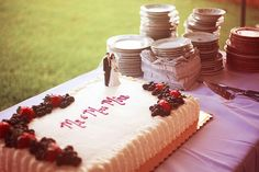 Cake And Punch Reception Decor : 1000+ images about Cake & Punch reception ideas on Pinterest Sheet cake wedding, Punch and ...