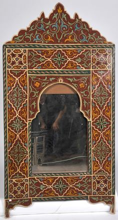 morocco wooden mirror - Google Search