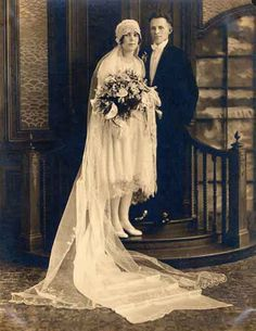1920s Veils and Frocks | Oh So Perfect