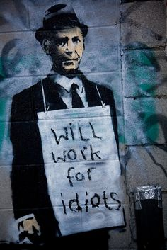 Banksy Art Gallery : Photo = better have your own plan or you become part of someone else's.