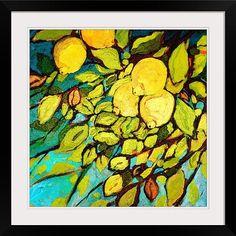 """Lemon Tree Fun"" by Jennifer Lommers via @greatbigcanvas at GreatBIGCanvas.com."