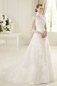wedding dresses 2013 with sleeves