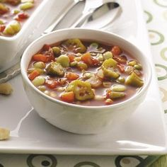 Southern Vegetable Soup Recipe | Taste of Home Recipes