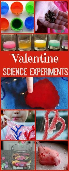 Cool science experiments for Valentines Day