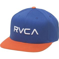 newest 5ca8f 2ab4e RVCA Twill III Snapback Hat ( 18) ❤ liked on Polyvore featuring  accessories, hats