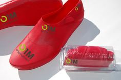 onemeoment shoes.   The onemoment shoes weigh half of what crocs weigh,at 85 gms for one. And fold up too.