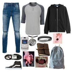 """""""2007 TMNT OC"""" by sammywinchester05 ❤ liked on Polyvore featuring Levi's, Vans, LE3NO, Kenzo, NOVICA, Motorola, KAOS, WithChic, Rustico and David Yurman"""