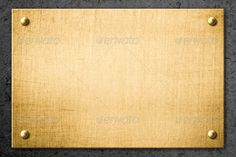 Realistic Graphic DOWNLOAD (.ai, .psd) :: http://jquery-css.de/pinterest-itmid-1006819085i.html ... golden metal plate or signboard on wall background ...  background, black, blank, board, brass, bronze, detail, frame, gold, industrial, metal, metallic, nameboard, plate, rivet, screw, sign, signboard, texture, wall, yellow  ... Realistic Photo Graphic Print Obejct Business Web Elements Illustration Design Templates ... DOWNLOAD :: http://jquery-css.de/pinterest-itmid-1006819085i.html