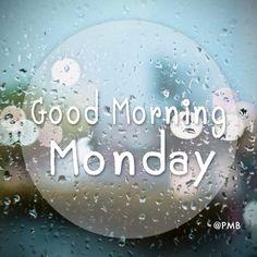 Good Morning Monday #MyPmb