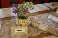Rustiikki-tyylistä häätavaraa