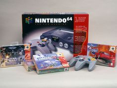 Nintendo just filed a trademark for a classic game console: the N64 Classic Consoles, Game Museum, Nintendo 64 Games, Nintendo Switch, Happy 20th Birthday, Retro Video Games, Retro Games, Childhood Days, Plus 4