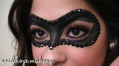 Ariel Hope: Halloween Makeup: Masquerade Ball