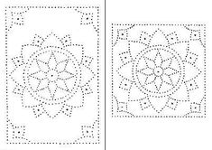 Tin Punch Patterns :: P 1005 Marigold Star 10 x 12 x 24 - Pierced Tin Designs Tin Can Crafts, Metal Crafts, Paper Embroidery, Embroidery Patterns, Punched Tin Patterns, Tin Can Lanterns, Metal Embossing, Tin Art, Parchment Craft