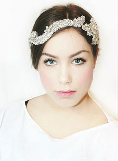 A personal favorite from my Etsy shop https://www.etsy.com/listing/228288858/my-amazing-jenny-bridal-hairpiece