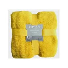 Jeté jaune Towel, Budget, Slipcovers, Accessories, Yellow, Towels
