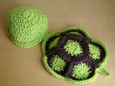 Newborn Baby Turtle Hat and Shell Photo Prop - Crochet Newborn Photo Prop - Hand… Crochet Cocoon, Cute Crochet, Crochet Hooks, Newborn Crochet Patterns, Baby Patterns, Baby Set, Baby Outfits, Crochet Turtle, Turtle Pattern