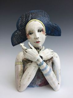 Sally MacDonell_contemporary ceramics_ Bath_figures