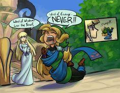 Legend of Zelda- Link Fashion fanart.