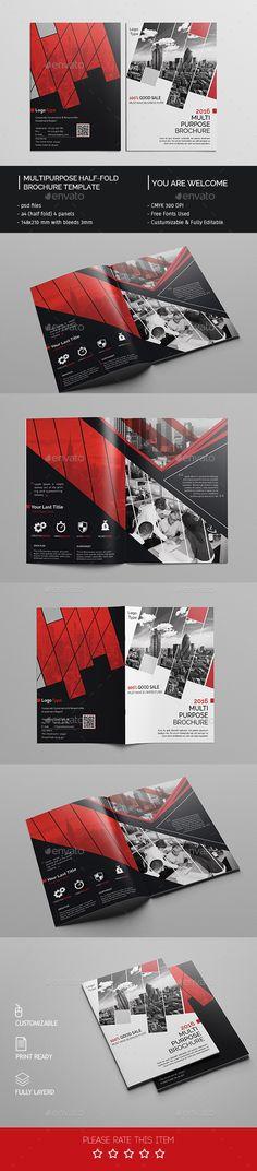 Corporate Bi-fold Brochure Template PSD. Download here: http://graphicriver.net/item/corporate-bifold-brochure-template-09/14898845?ref=ksioks