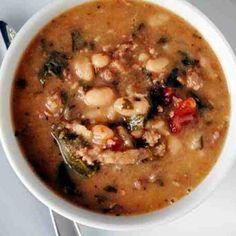 Kale & Bean w/ Sausage Soup.