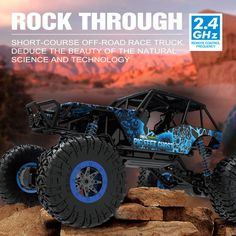 #Hb-p1003 2.4g 4wd 1/10 #scale rock crawler rally rc car #electric rtr buggy truc,  View more on the LINK: http://www.zeppy.io/product/gb/2/302167821253/