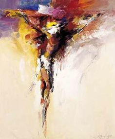 Image result for prophetic  art Jesus on the Cross