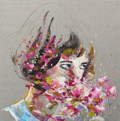 artist interview - judith geher's oil ladies