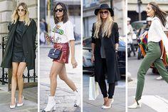 ¿Vuelven los zapatos blancos? Aprende a combinarlos Casual Manolo Blahnik, Rihanna, Christian Louboutin, Blazers, Health Pictures, Michael Kors, Health Lessons, Lessons For Kids, Kids Videos