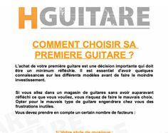 Comment bien choisir sa guitare ? C'est le sujet de l'épisode 7 des Conseils et Astuces pour guitaristes.