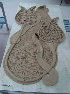 So Inspiring!!! An architectural ceramic part. It has some traces from Ottoman Time.