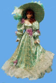 rustie dolls | 216: RUSTIE SELF PORTRAIT ARTIST DOLL BY RUSTIE : Lot 216